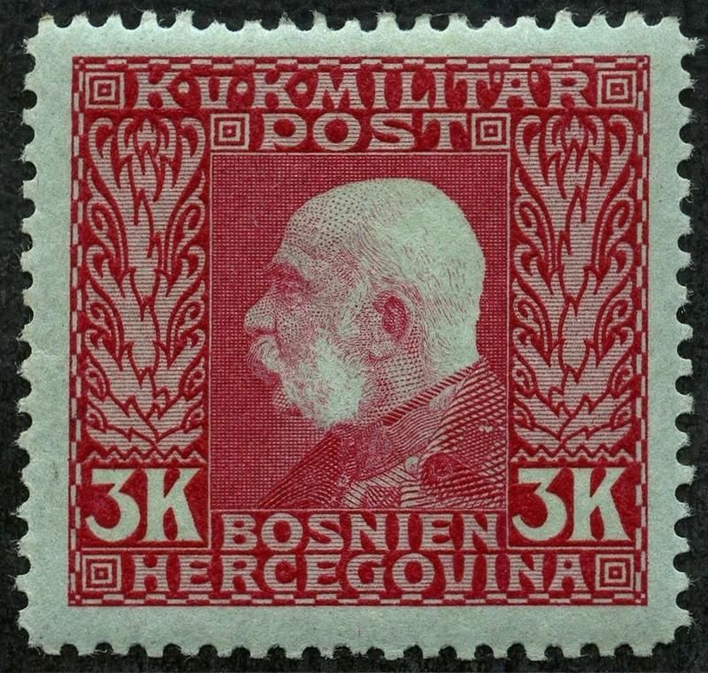 """Österreich Bosnien-Herzegowina """"Freimarkenausgabe 1912"""" Nr. 64 bis 84"""" 82_kar10"""