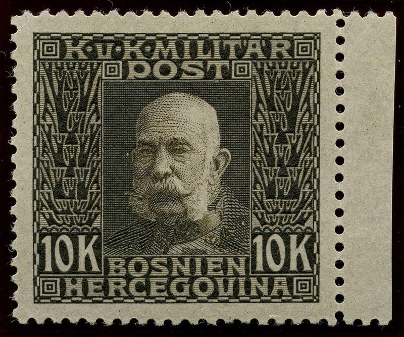 """Österreich Bosnien-Herzegowina """"Freimarkenausgabe 1912"""" Nr. 64 bis 84"""" 84_pva10"""
