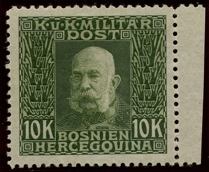 """Österreich Bosnien-Herzegowina """"Freimarkenausgabe 1912"""" Nr. 64 bis 84"""" 84_pvc10"""