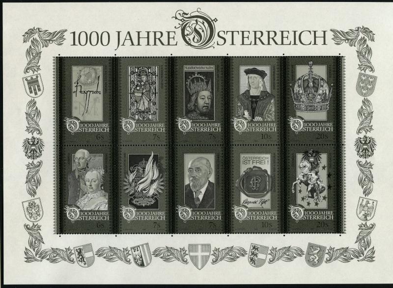 Österreich - Specimen, Schwarzdrucke, Buntdrucke Img01910