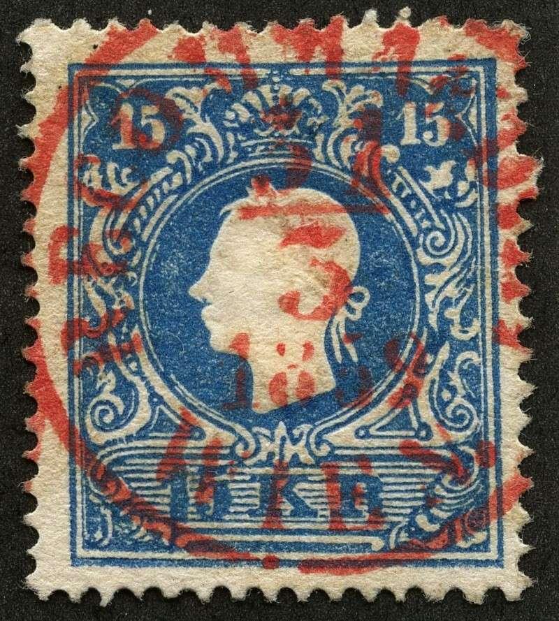 Die Freimarkenausgabe 1858 Type I und II Img18411