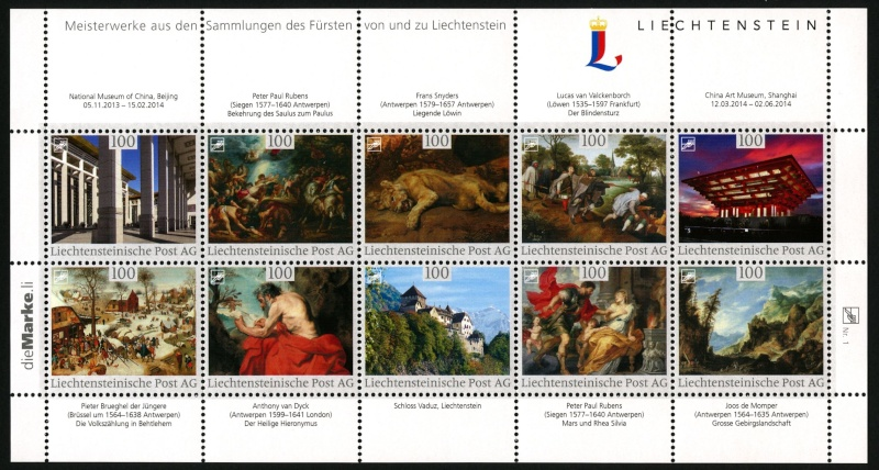 Liechtenstein - Liechtenstein - die Marke Img20310