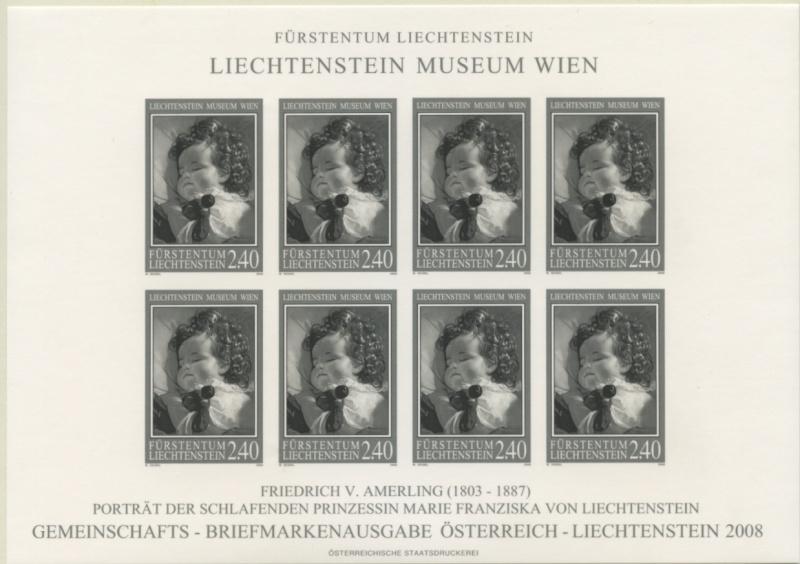 Liechtenstein - Gemeinschaftsmarke Österreich-Liechtenstein Img79610