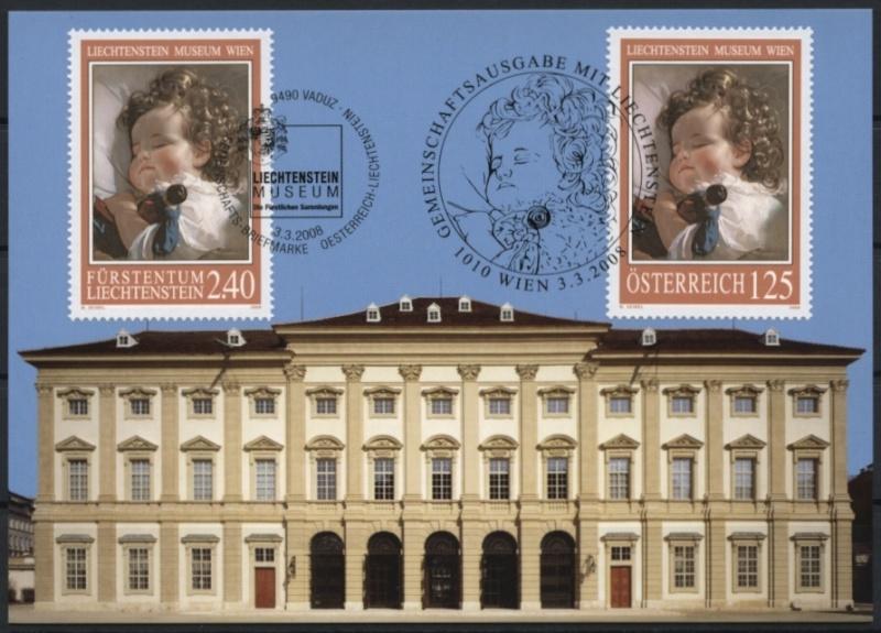 Liechtenstein - Gemeinschaftsmarke Österreich-Liechtenstein Img79710