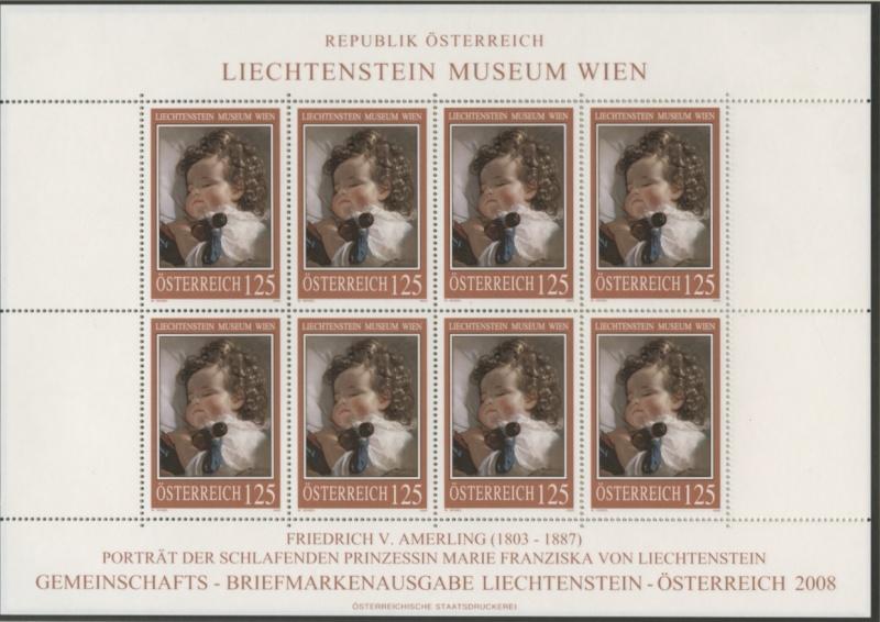 Liechtenstein - Gemeinschaftsmarke Österreich-Liechtenstein Img79910