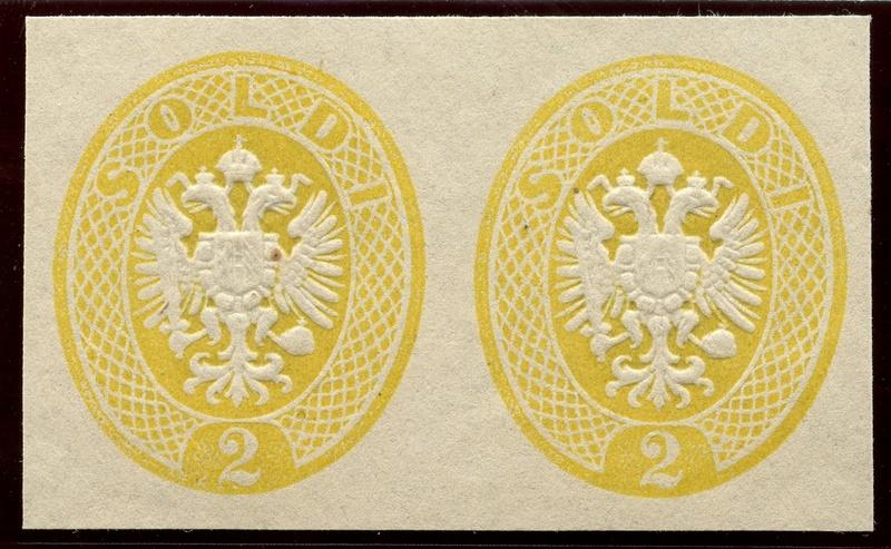 Lombardei-Venetien, Ausgaben 1863 und 1864 Lv_14_10