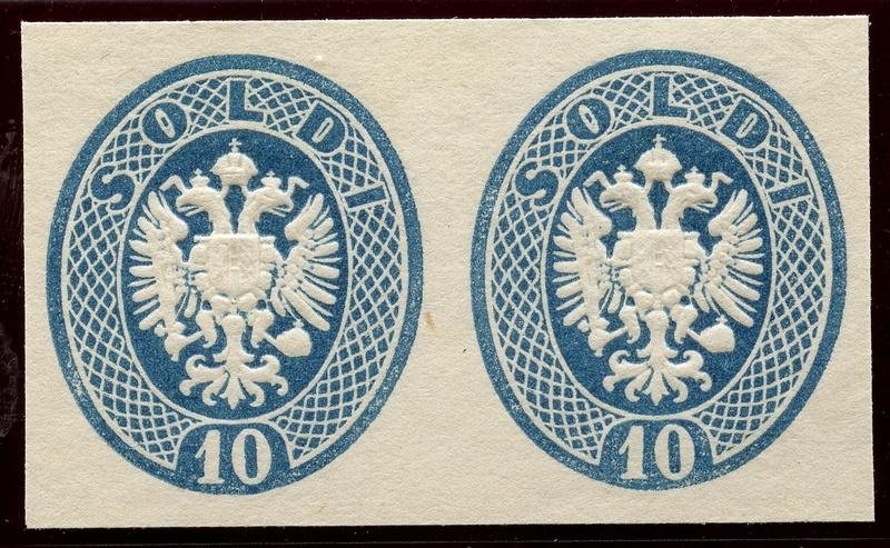 Lombardei-Venetien, Ausgaben 1863 und 1864 Lv_17_10