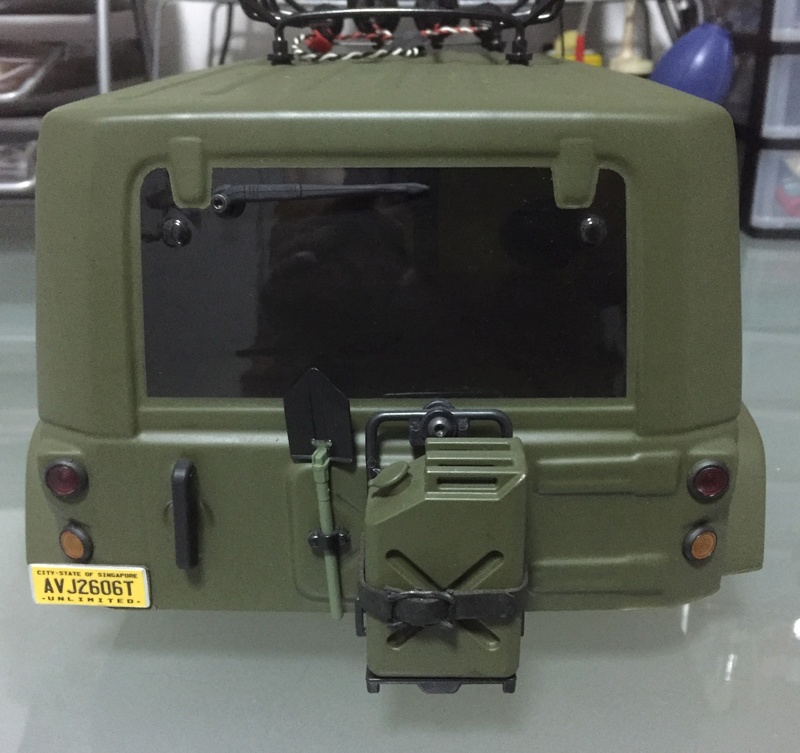 jeep - WTS: Scale Pro-Line Jeep Unlimited Painted Body (Olive Green) 211