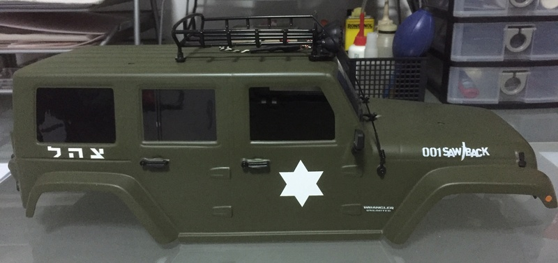 jeep - WTS: Scale Pro-Line Jeep Unlimited Painted Body (Olive Green) 410