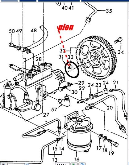 demontage pompe a injection roto diesel cavdpa sur ford 5600. Black Bedroom Furniture Sets. Home Design Ideas