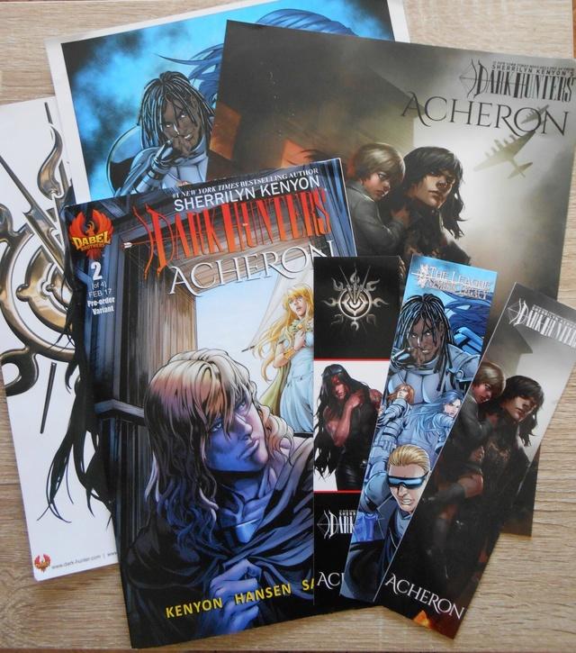"""""""Acheron"""" : Comics Books (Issue 1 à 4) et Roman Graphique Comics10"""