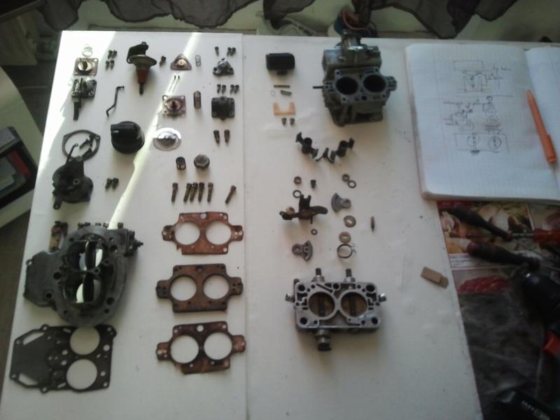 remontage moteur 2.3l V6 ford 1982 Photo012