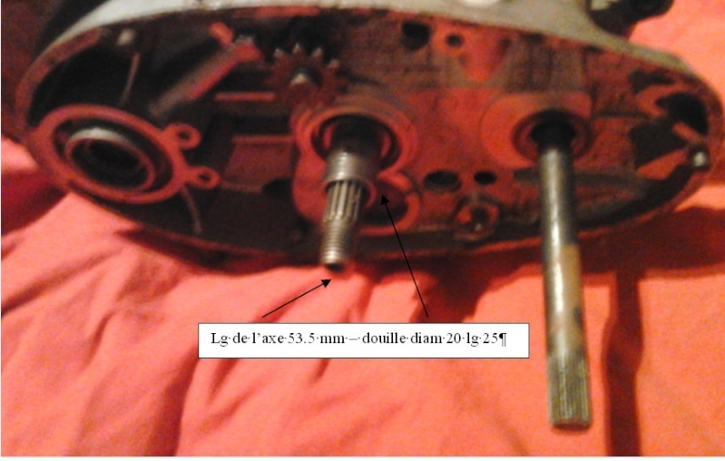 transmission primaire de 125 ts Carter10