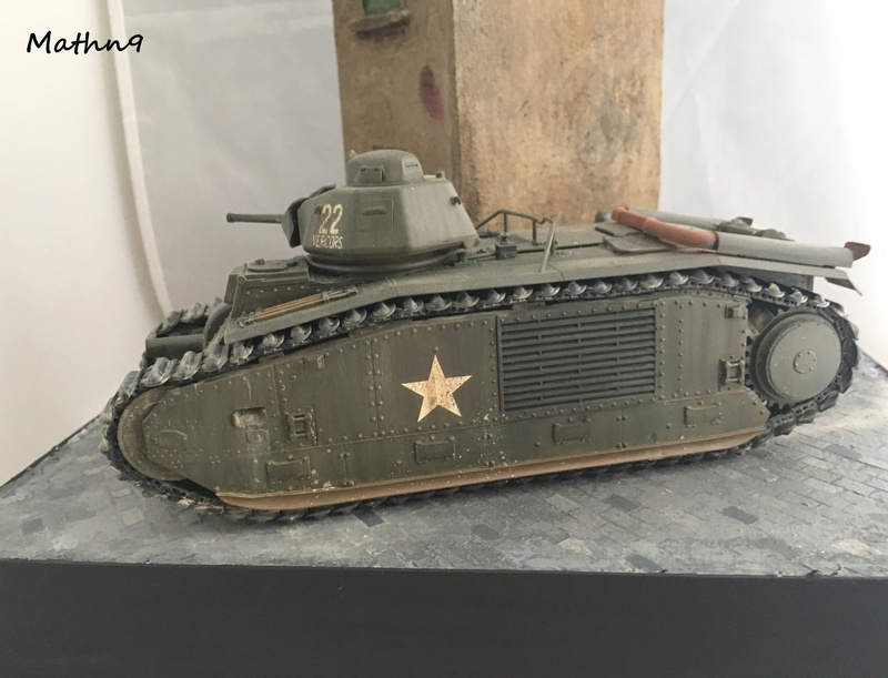 B1Bis [Tamiya 1/35] + US infantry [Dragon 1/35] Img_1113