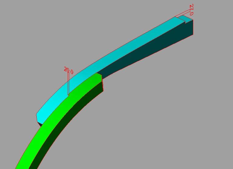 profondeur dans un ecart a croc reliant un madier et une allonge Sans_t10