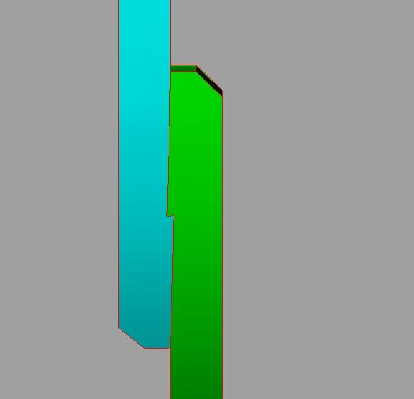 profondeur dans un ecart a croc reliant un madier et une allonge Sans_t11