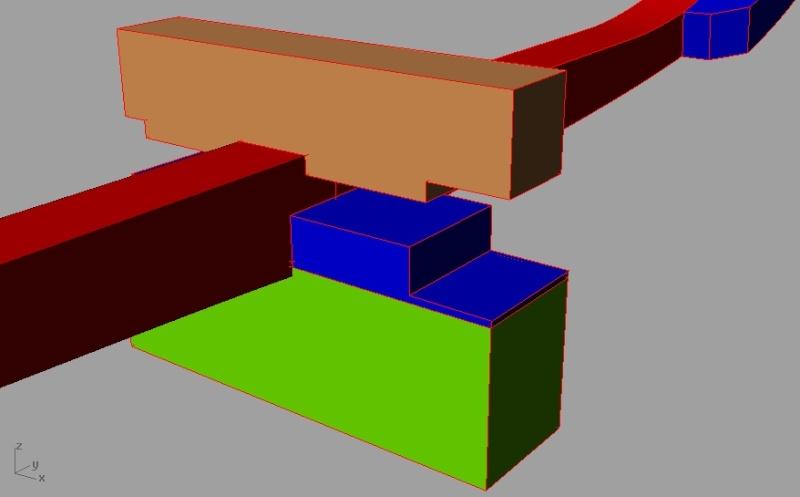 profondeur dans un ecart a croc reliant un madier et une allonge Sans_t16