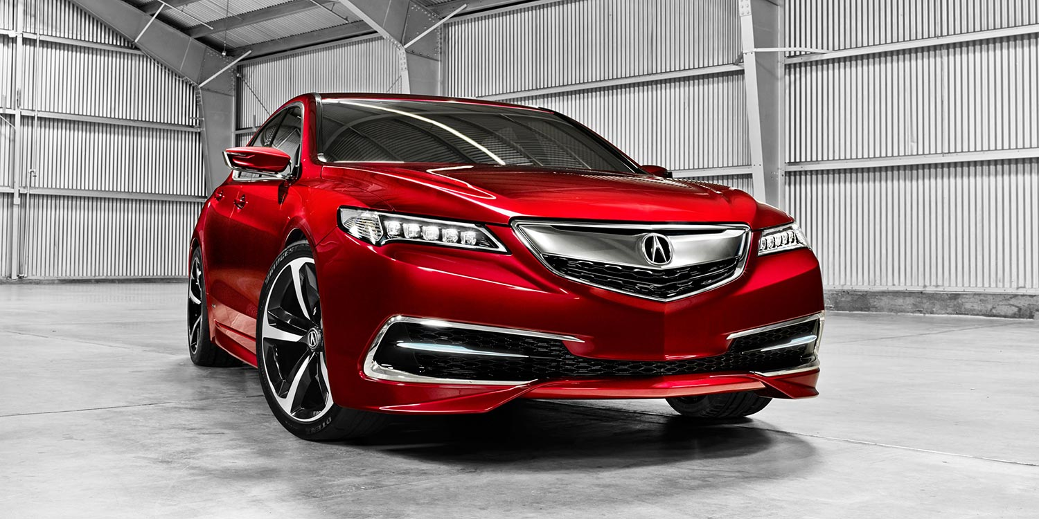 2014 - [Acura] TLX 2015-t14