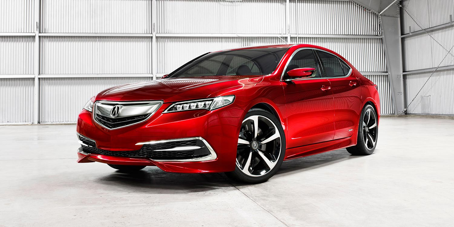 2014 - [Acura] TLX 2015-t15