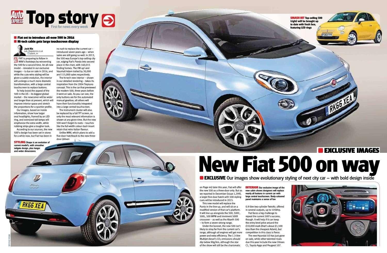 2015 - [Fiat] 500 Restylée - Page 3 50011