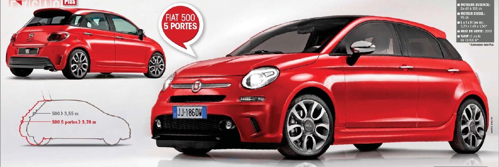 2015 - [Fiat] 500 Restylée - Page 4 50012