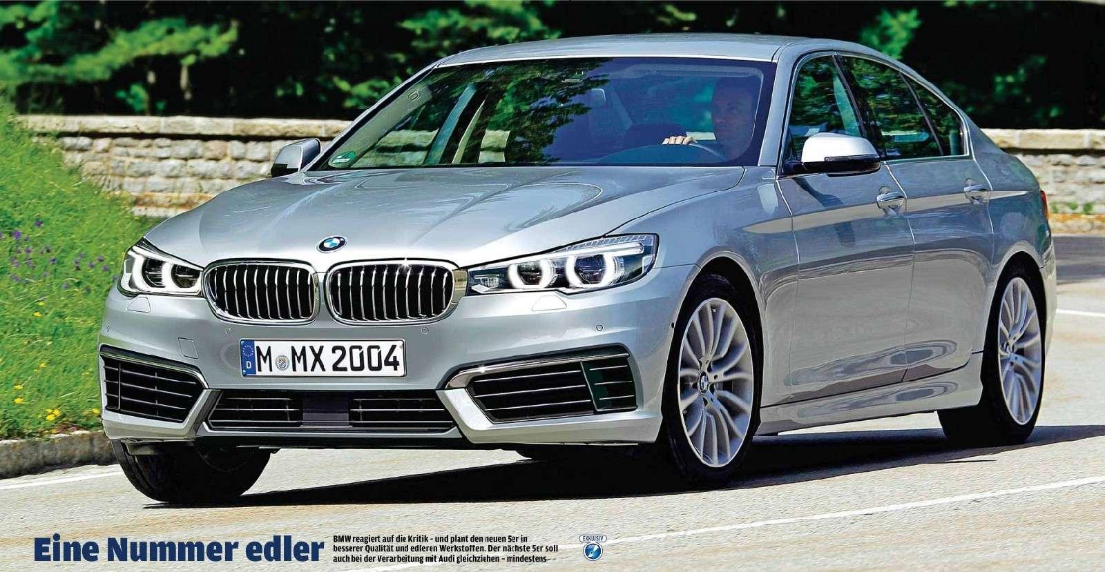 2016 - [BMW] Série 5 Berline & Touring [G30/G31] 5er_10
