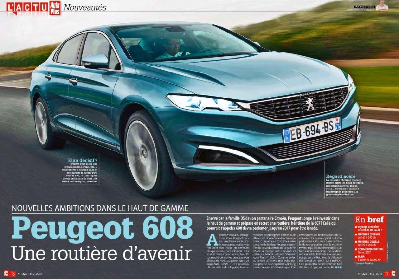 2017 - [Peugeot] 608 60811