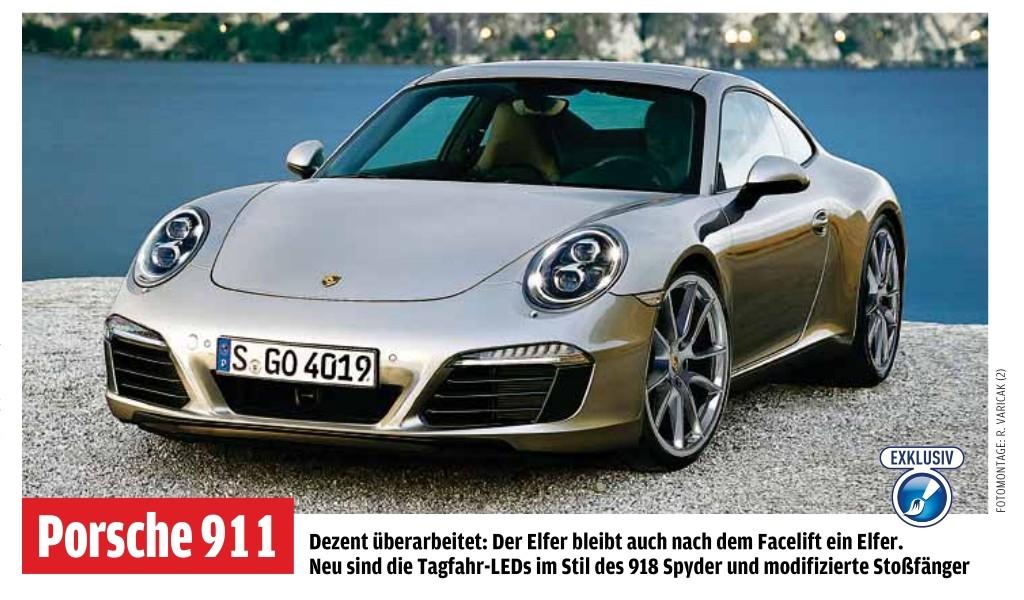 2015 - [Porsche] 911 Restylée [991] 91112
