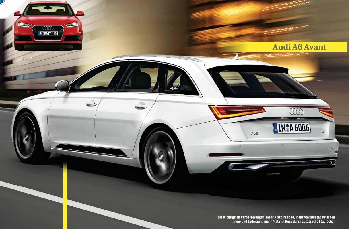 2017 - [Audi] A6 Berline & Avant [C8] A6avan10