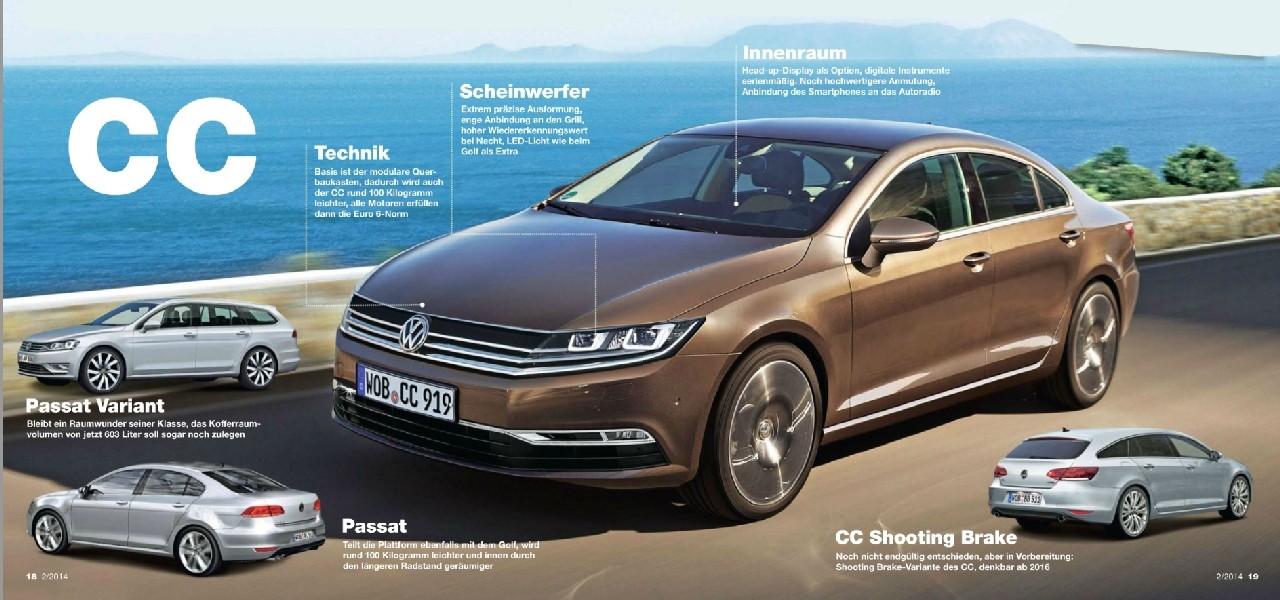 2016 - [Volkswagen] Arteon - Page 2 Cc11