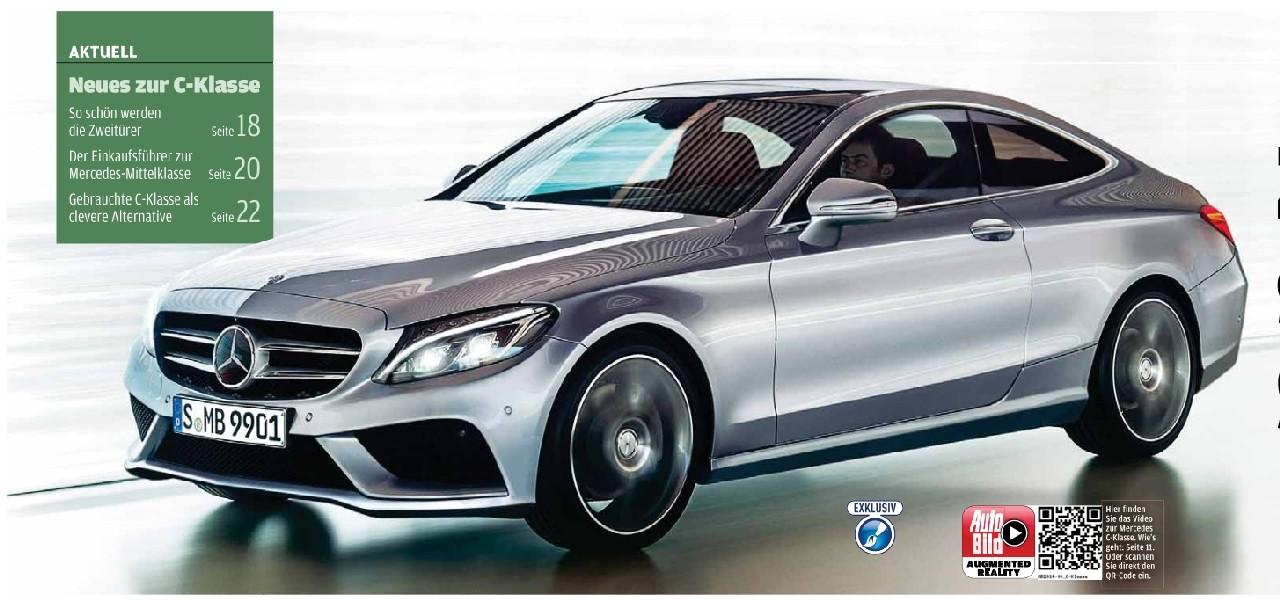 2015 - [Mercedes] Classe C Coupé & Cabriolet [C205/A205] Ccoupe10