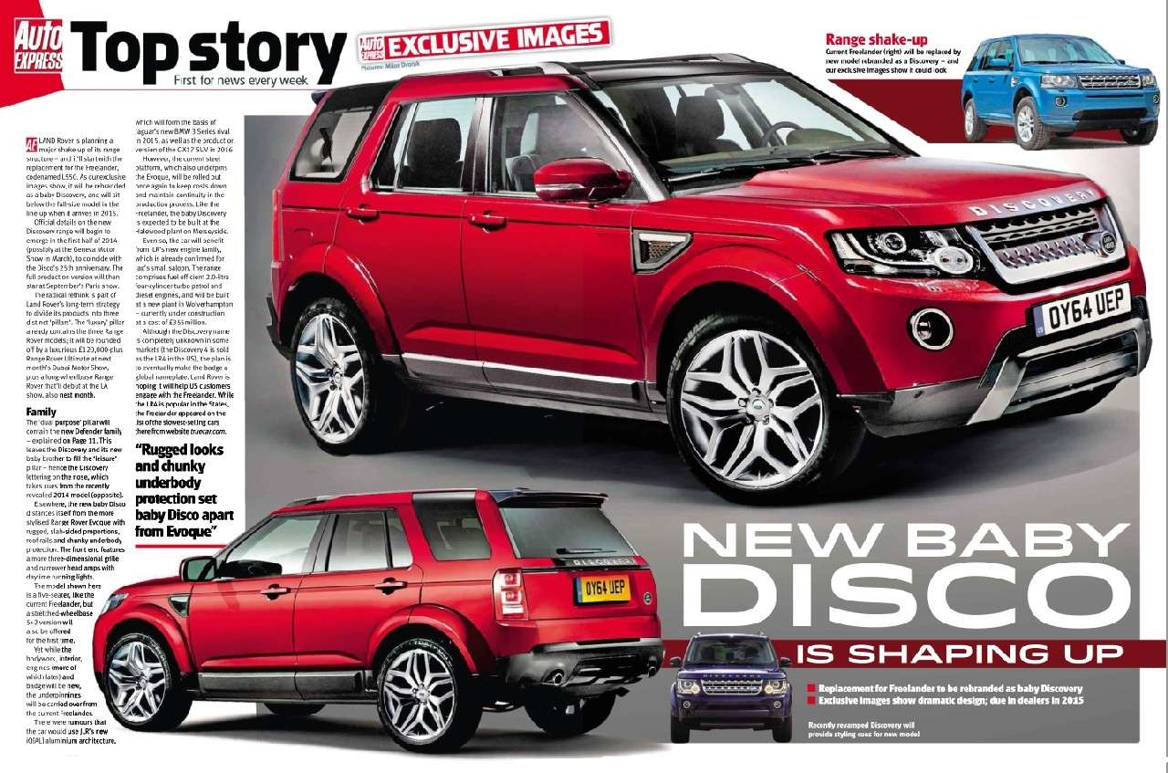 2014 - [Land Rover] Discovery Sport [L550] - Page 2 Disco10