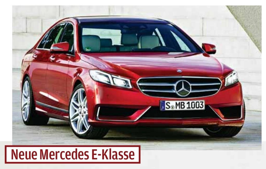 2016 - [Mercedes] Classe E [W213] E110