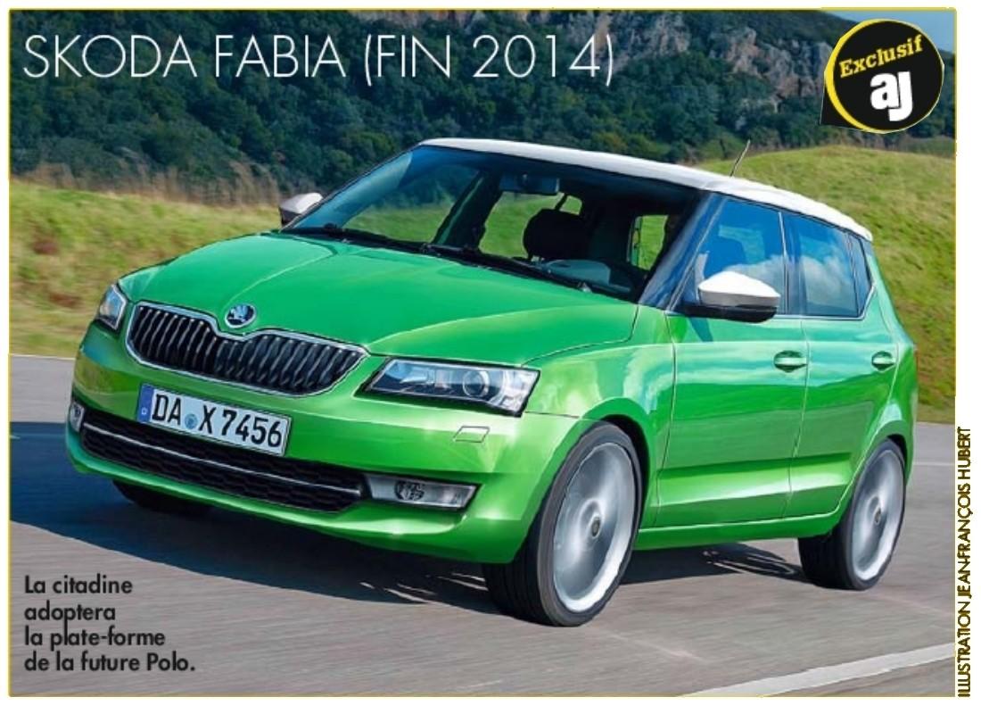 2014 - [Skoda] Fabia III - Page 4 Fabia12