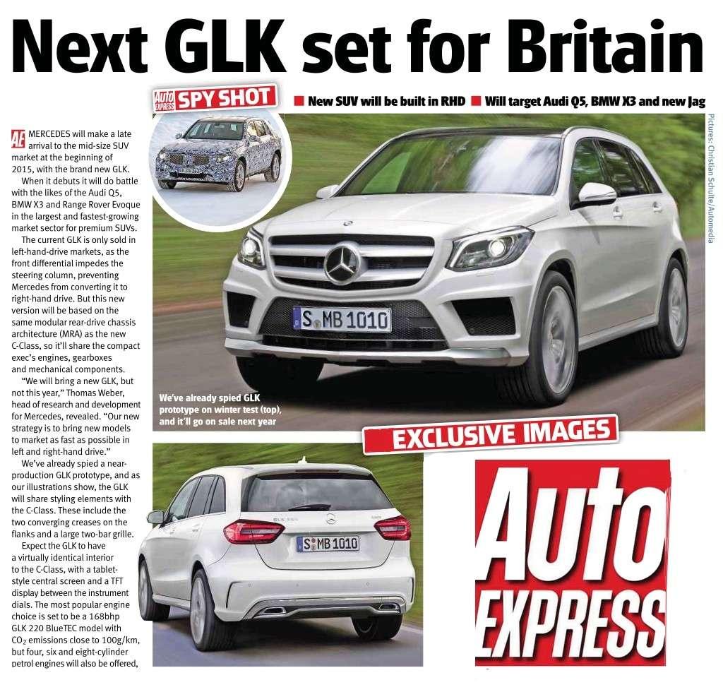 2015 - [Mercedes] GLC (GLK II) [X205] - Page 3 Glk12
