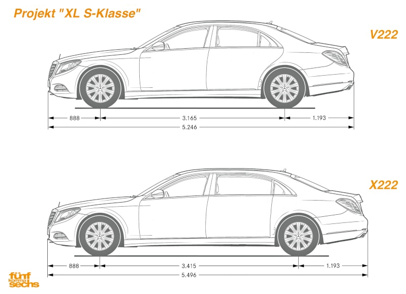 2013 - [Mercedes] Classe S [W222] - Page 38 Laenge10