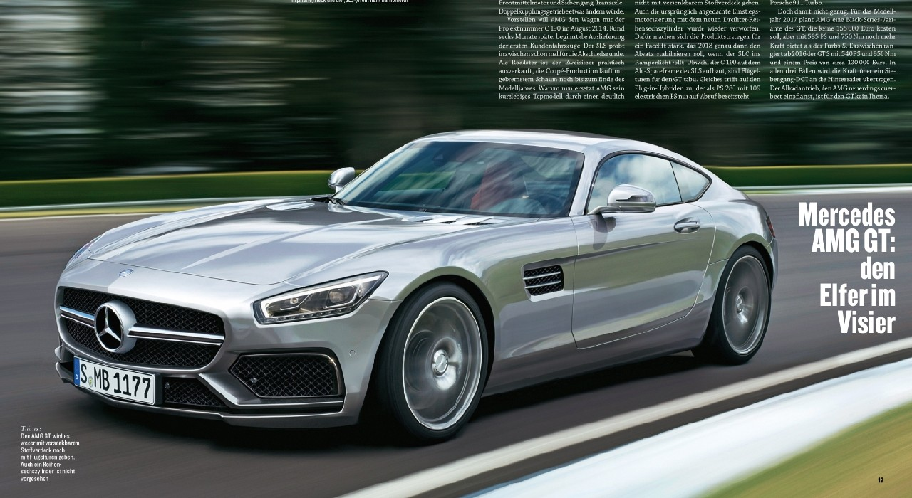 2014 - [Mercedes-AMG] GT [C190] - Page 3 Slc10