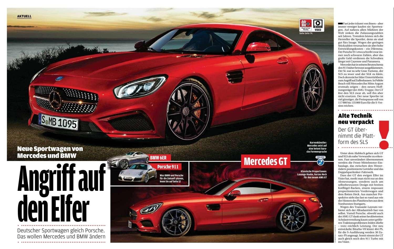 2014 - [Mercedes-AMG] GT [C190] - Page 6 Slc12
