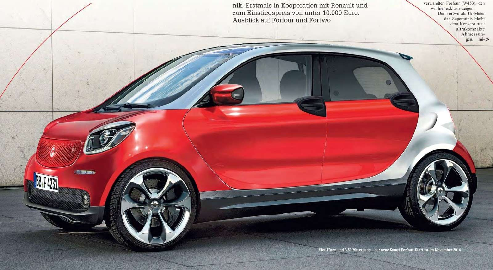 2014 - [Smart] Forfour [W453] - Page 5 Smart10