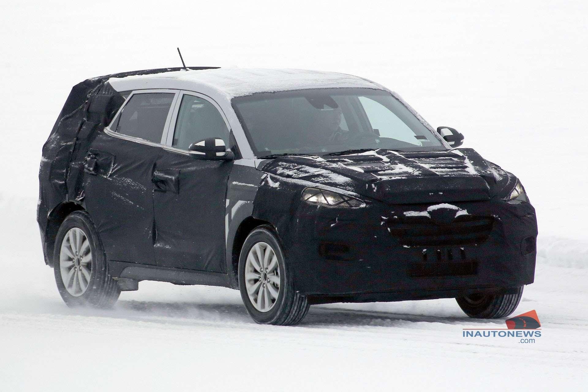 2015 - [Hyundai] Tucson III Spied-20