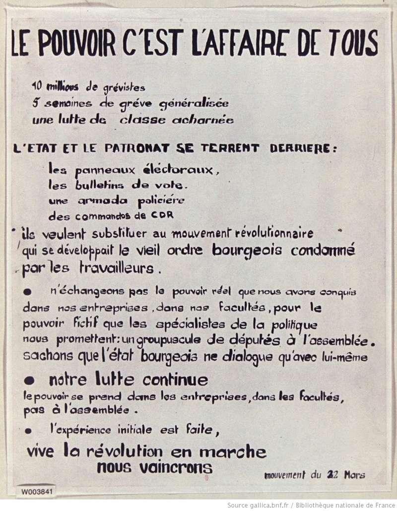 Mouvement du 22 mars Mai_1910