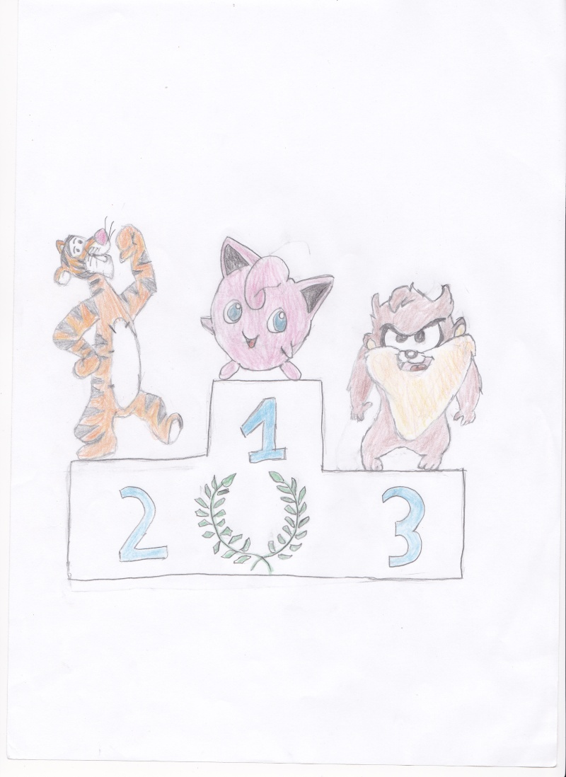 Vos dessins hors sujet - Page 11 Tigrou10