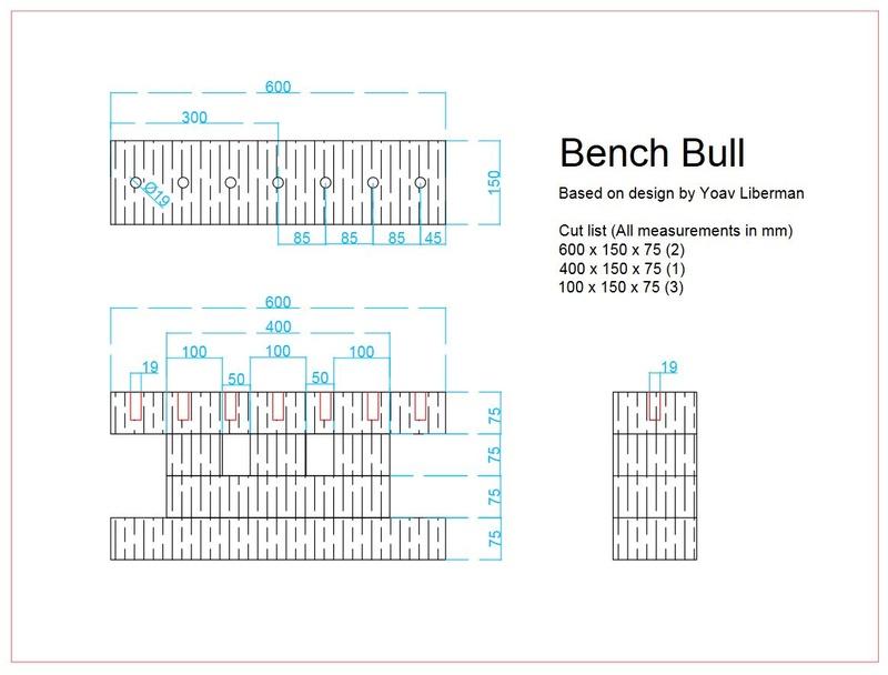 Bench Bull 1c10