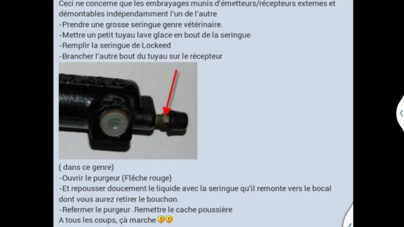 technique purge embrayage hydraulique Screen15