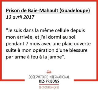 [Partenariat-OIP] Breves de prisons : la réalité. - Page 6 Baie10