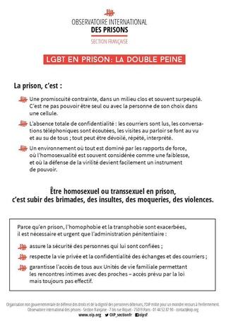 [Partenariat-OIP] Breves de prisons : la réalité. - Page 6 Homo11