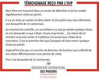 [Partenariat-OIP] Breves de prisons : la réalité. - Page 5 Nourri10
