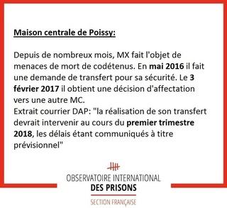 [Partenariat-OIP] Breves de prisons : la réalité. - Page 4 Poissy10