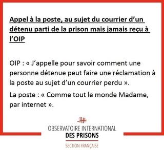 [Partenariat-OIP] Breves de prisons : la réalité. - Page 5 Poste10