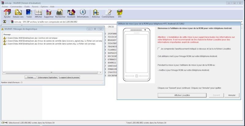 [Tuto]Passer un HTC One X, S ou V en ROM Officielle  - Page 5 Erreur11